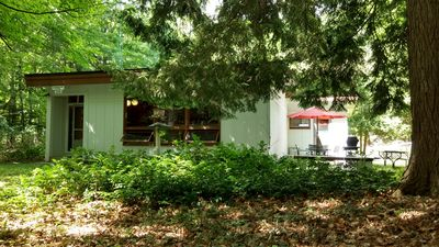 "Photo for NEW! Enjoy nature, peace and quiet at this cottage in the woods, ""R"" Place"