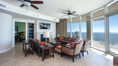 Photo for Relaxing Large Unit at Turquoise Place with Wraparound Balcony Views