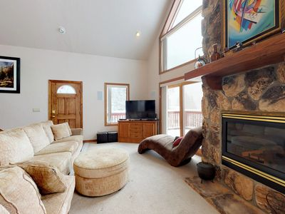 Photo for NEW LISTING! Mountain home w/ private hot tub, deck, & river access nearby