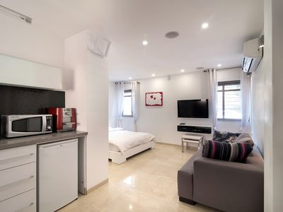 Photo for NO STAIRS! Fabulous studio apt. in Baka, 200 meters from Emek Refaim