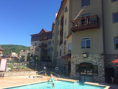 Photo for Tamarack At Holiday Valley Slope Side Luxury Condo With Superb View Of Slopes