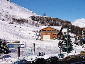 Cote Ski Lift, Mont-de-Lans, France
