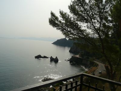 Photo for Seaside villa on the rock