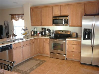 An open concept fully equipped kitchen for all of your needs