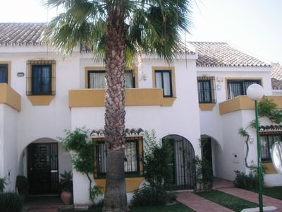 Photo for Townhouse with  air conditioning and  fabulous sea views Calahonda Spain.