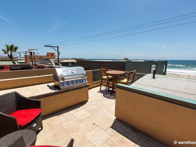 Photo for Rooftop Deck with Stunning Ocean Views!