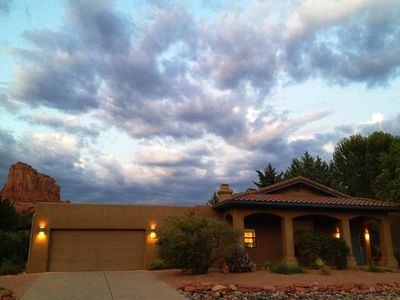 Photo for Reviews Say It All- Red Rock Views From Shade, Hot Tub, Wifi, All Amenities