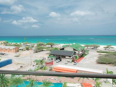 Photo for BEACH VIEW - EAGLE BEACH - LEVENT RESORT - Teal View Two-bedroom condo - LV58C1