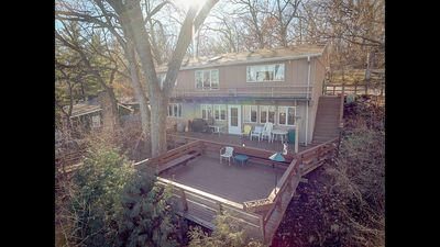 Photo for Beautiful Waterfront Wooded 5 Bedroom Home