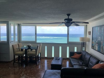 Photo for Condado Oceanview 3-Bedroom Penthouse - Pool and Open Terrace!