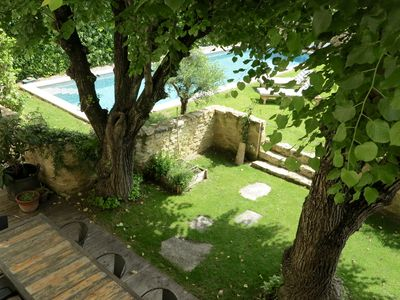 Photo for BEAUTIFUL AUTHENTIC HOUSE OF VILLAGE NEAR UZES PROVENCE  PERFECT FOR 2 FAMILY
