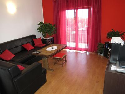 Photo for Two bedroom apartment with balcony and sea view Gradac (Makarska)