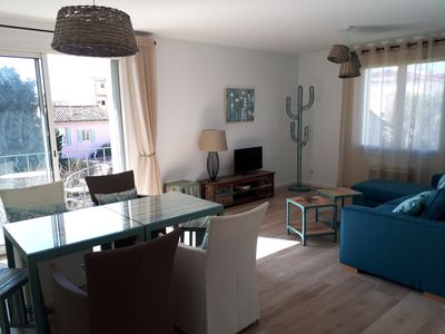 Photo for NEW! Charming apartment located in the heart of Sanary