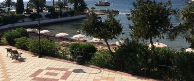 Photo for Apartment 6 pers. - Feet in the water - Ibiza Ciudad - Figueretas, Balearic Islands