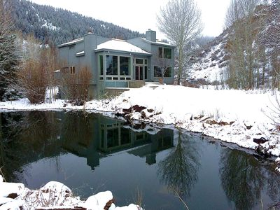 Photo for Luxury Scenic Idyll Five Minutes From Ketchum , Sun Valley And Slopes