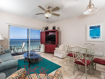 Photo for Pelican Isle 608: Charming - on the beach! Balcony, pool, Free Beach Service