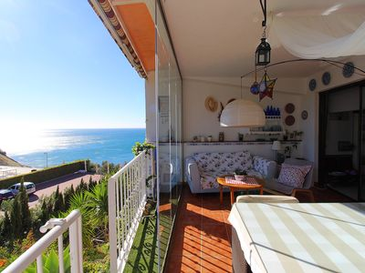 Photo for MIRADOR DE CARVAJAL BEACH. Exclusive Apartment on the Beach of Carvajal