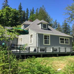 Photo for Charming Ocean Front Cottage w/ views of Western Way / Acadia / Mt Desert Island