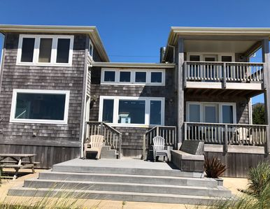 Photo for Ocean Front House in Rockaway Beach, incredible for the 4 of July.