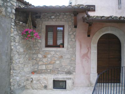 Photo for Holiday apartment Caporciano for 2 - 4 persons with 1 bedroom - Multistorey holiday home/maisonette