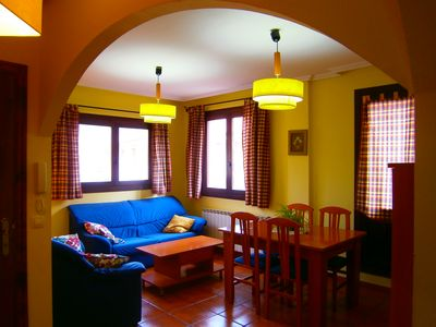 Photo for Rural apartment El Brezo for 4 people