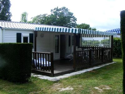 Photo for Camping Brillas *** - Mobile Home 4 Rooms 6 People