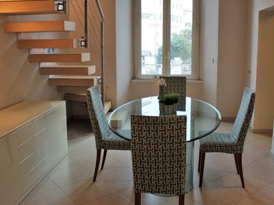 Photo for luxurious apartment in the center of Rome 6/8 guests. few steps from metro stop