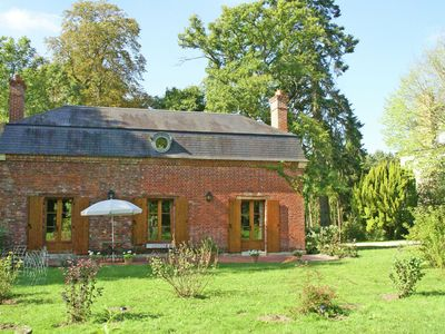 Photo for Guest House on the domain of an 17th century castle. With heated pool.