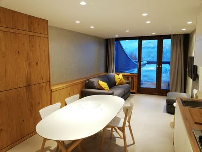 Photo for The edelweiss Cervinia prestigious apartment on the slopes