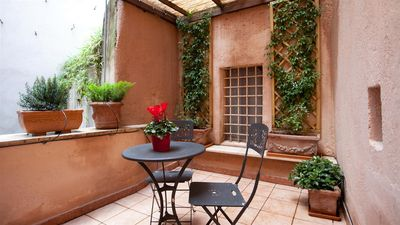 Photo for Frangipane Studio Terrace 1056 apartment in Centro Storico with air conditioning & private terrace.