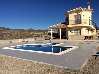 Photo for Beautiful Modern Villa Finished To A High Standard, Private Pool, Mountain Views