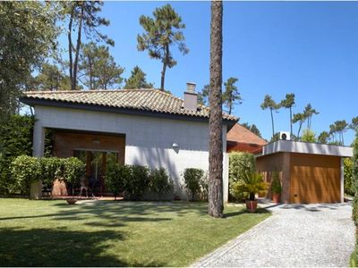Photo for 5 bedroom villa with swimming pools, tennis, only 300m from the beach - Ideal Families