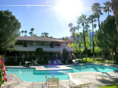 Photo for Great 1 Bedroom Condo in North Palm Springs, Near Tram & Downtown + Mtn Views & Tennis Courts