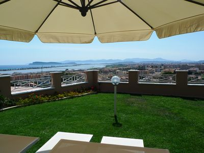 Photo for Visit Cagliari with private panoramic garden!