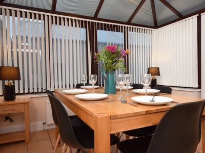 Enjoy dining in with seating for everyone