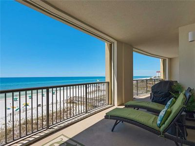 Photo for Enjoy this Condo Directly on the Beach! GREAT view! Extended Balcony!