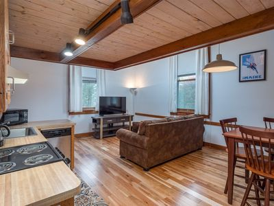 Photo for Charming Loft in Downtown Bethel - On Shuttle Route and Near Golf and Skiing