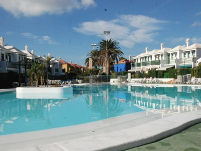 Photo for BEAUTIFUL DUPLEX IN MASPALOMAS WITH A / A