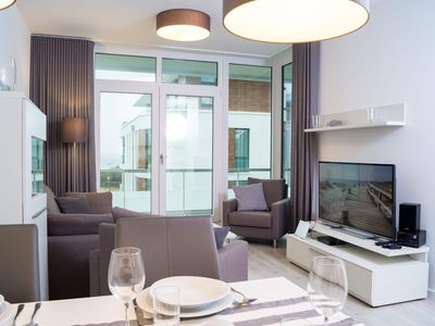 Photo for Luxury apartment for 4 people with sea views
