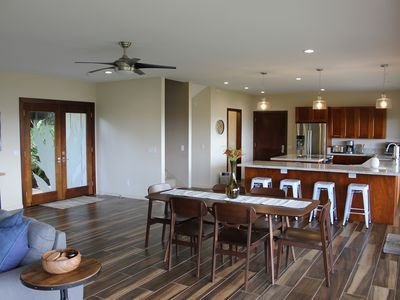 Photo for Gorgeous NEW home with sweeping ocean views near Famous Waimea Bay
