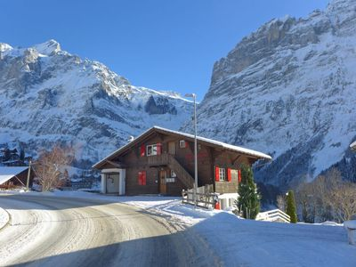 Photo for Apartment Chalet Bärglistock in Grindelwald - 2 persons, 1 bedrooms