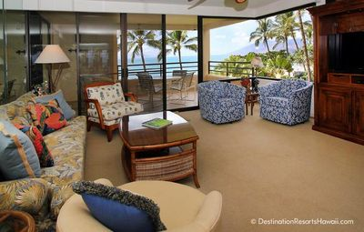 Photo for Jaw-dropping views! Oceanfront two-bedroom home directly on Polo Beach.