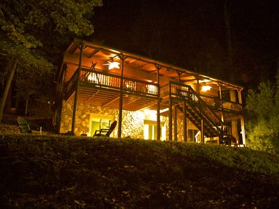 Photo for Cozy Cabin on Lake Hartwell! Perfect for Family Summer Vacation! Sleeps 10!