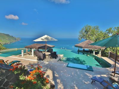Photo for 5* Affordable luxury* with views and an Infinity Pool to take your breath away