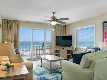 GD #317 Large Unit !Directly On The Beach! Great West End View!