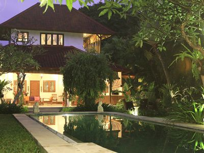 Photo for 5 Bedroom, 2 Pool Villas, Mins Walk to Shops, restaurants and Seminyak Beach