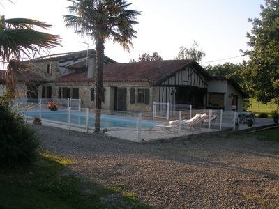 Photo for in beautiful 10 hectare estate with pool house gascone