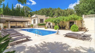 Photo for Sa Taulera Villa - luxury and spacious 5 bed villa with salt-water pool for 12