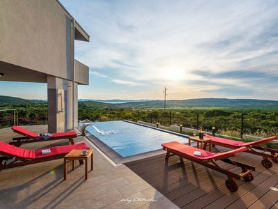 Photo for Villa near Zadar with a glorious view