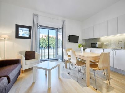 Photo for Cool Apartment Girona - balcony overlooking the river - 1st floor - 2 bedrooms
